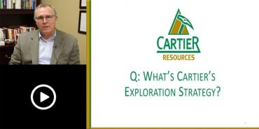 Ressources Cartier – Strategie d'exploration