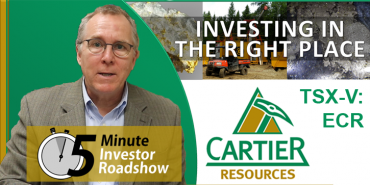 Cartier Resources Corporate Profile (5 Minute Version)
