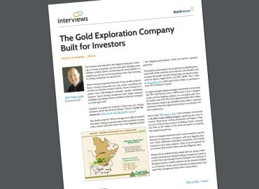 Cartier Resources: The Gold Exploration Company Built For Investors