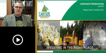 Webinaire Ressources Cartier pour investisseurs allemands – juillet 2019 (en Anglais)
