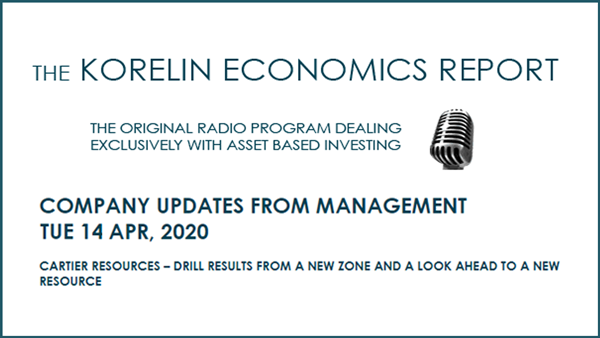 Korelin Economics Report Interview – Company Updates from Management