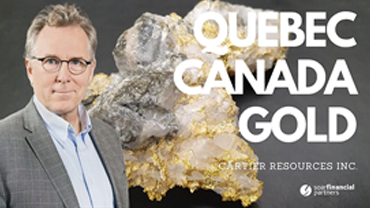 Soar Financial – Cartier Resources Inc. – Gold in Quebec / Webinar
