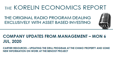 'Updating Chimo Drill Program + New Information on Benoist' – Korelin Economics Report
