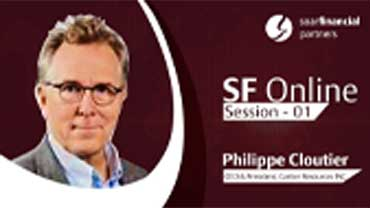 Soar Financial – SF Online – Session 01 – Cartier Resources, Philippe Cloutier