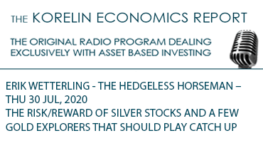 'The Risk/Reward of Silver Stocks and a Few Gold Explorers that Should Play Catch Up' – Korelin Economics Report