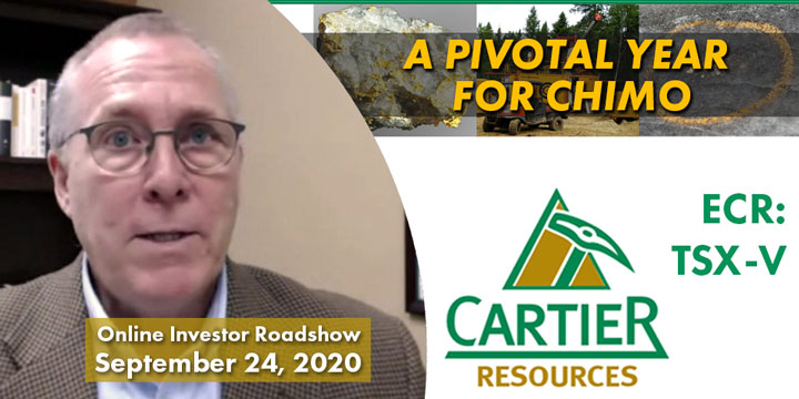 Cartier Resources Online Investor Roadshow