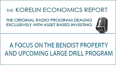 'A Focus on the Benoist Property and Upcoming Large Drill Program' – Korelin Economics Report