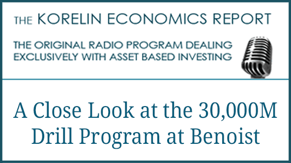 'A Close Look at the 30,000meter Drill Program at the Benoist Property' – Korelin Economics Report