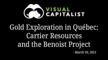 Gold Exploration in Québec: Cartier Resources and the Benoist Project – Visual Capitalist