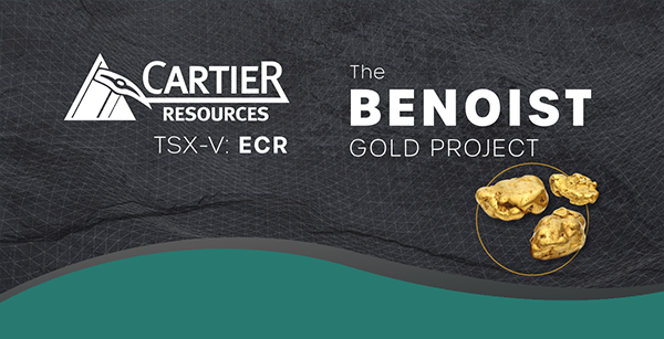 Infographic: Gold Exploration in Québec: Cartier Resources and the Benoist Project