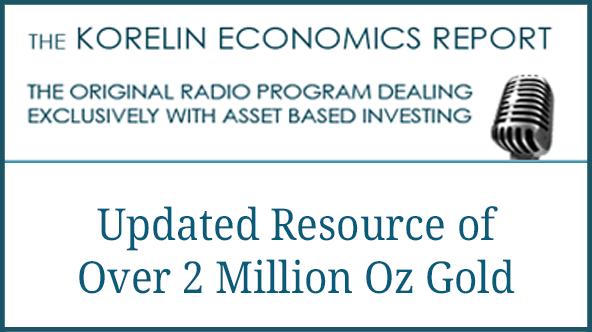 Cartier Resources Updated Resource Of Over 2 Million Oz Gold – Korelin Economics Report